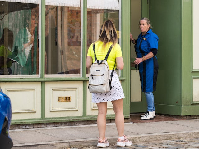 Gemma and Bernie on the second episode of Coronation Street on September 22, 2021