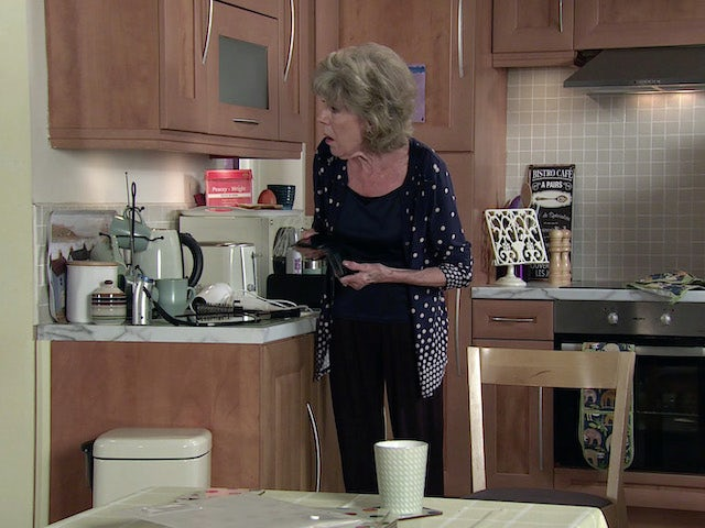 Audrey on the second episode of Coronation Street on September 22, 2021