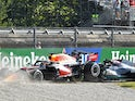 Red Bull's Max Verstappen and Mercedes' Lewis Hamilton crash out of Italian Grand Prix on September 12, 2021