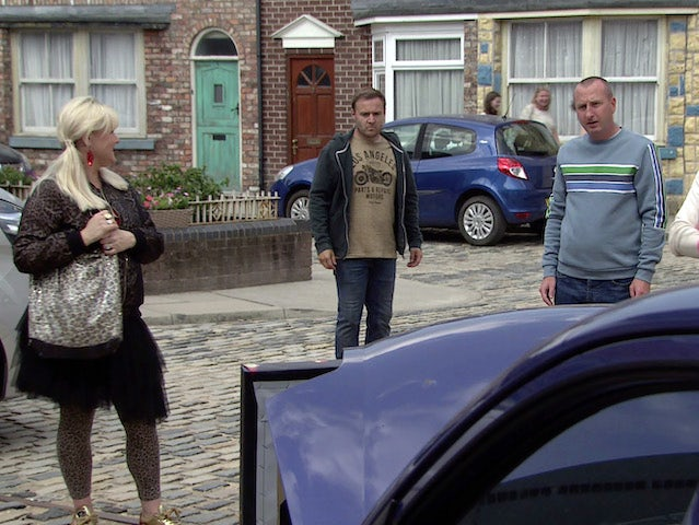 Tyrone and Kirk on the second episode of Coronation Street on September 15, 2021