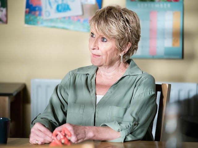 Shirley on EastEnders on September 21, 2021
