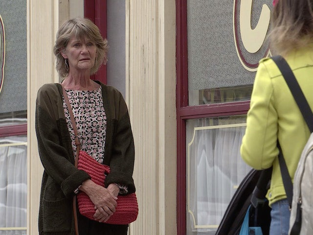 Freda on the second episode of Coronation Street on September 20, 2021
