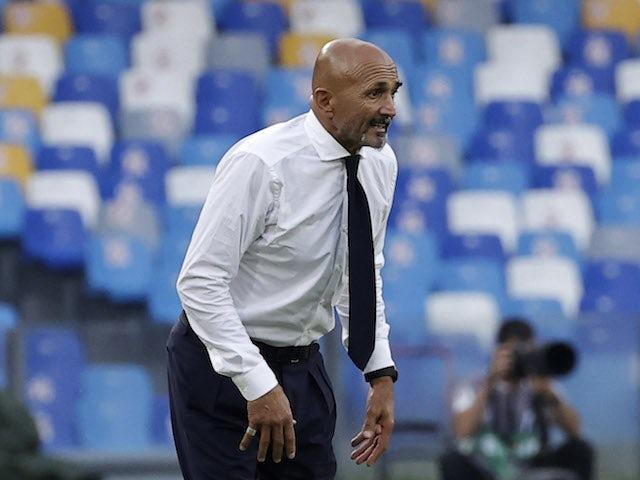 Napoli coach Luciano Spalletti on September 11, 2021