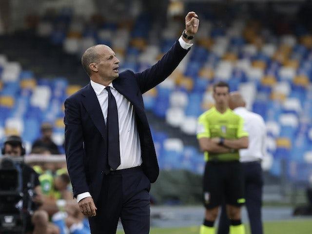 Juventus coach Massimiliano Allegri on September 11, 2021