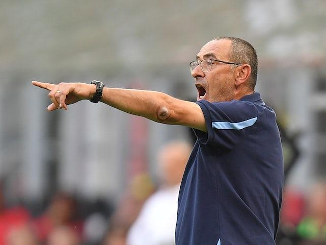 Lazio head coach Maurizio Sarri pictured on September 12, 2021
