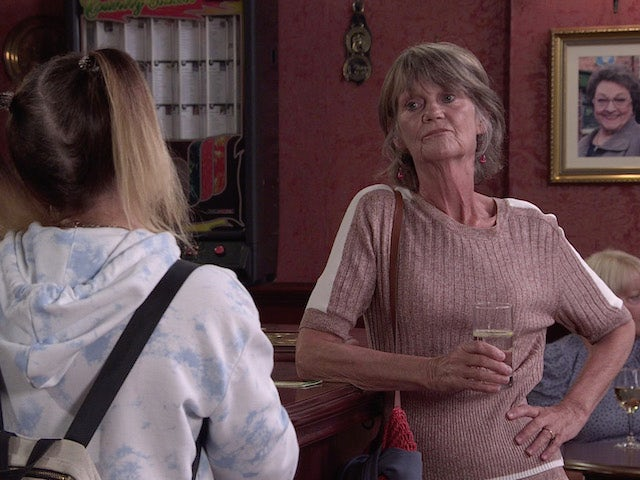 Freyda on the second episode of Coronation Street on September 17, 2021