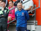 Blackpool manager Neil Critchley on September 11, 2021