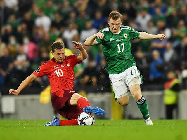 Result: Bailey Peacock-Farrell's penalty save earns Northern Ireland a point