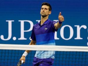 Novak Djokovic survives scare to keep calendar grand slam bid on track