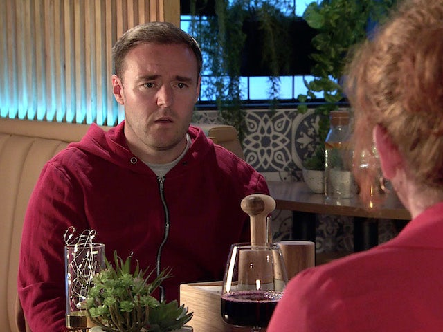 Tyrone on the second episode of Coronation Street on September 13, 2021