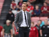 Bournemouth manager Scott Parker before the match on September 11, 2021
