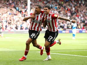 Sheffield United hit Peterborough for six to record first league win of season