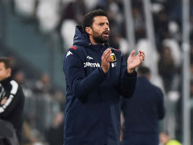 Thiago Motta, now in charge of Spezia, pictured in 2019