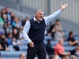 Blackburn Rovers' manager Tony Mowbray on September 11, 2021