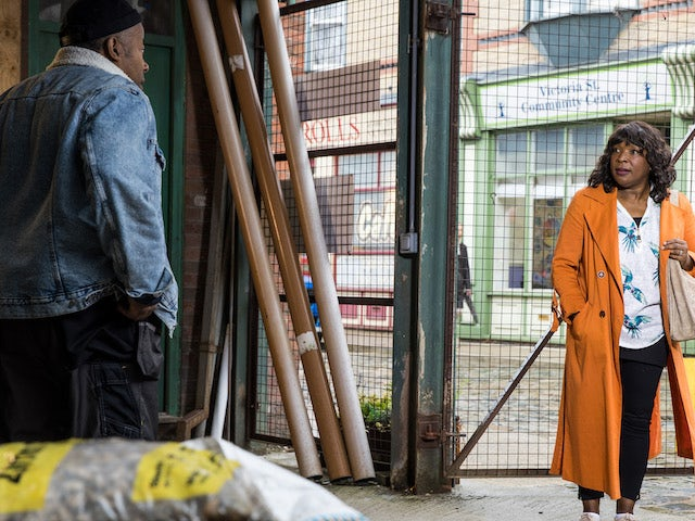 Aggie on the second episode of Coronation Street on September 22, 2021