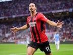 Zlatan Ibrahimovic missing as AC Milan return to Champions League at Anfield