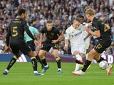 Leeds United's Adam Forshaw pictured in action against Crewe Alexandra on August 24, 2021