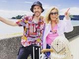 Beverley Callard and Jordan North for their new ITV show Destination Wedding