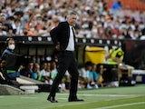 Real Madrid coach Carlo Ancelotti on September 19, 2021