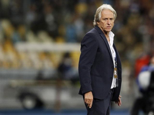Benfica coach Jorge Jesus on September 14, 2021