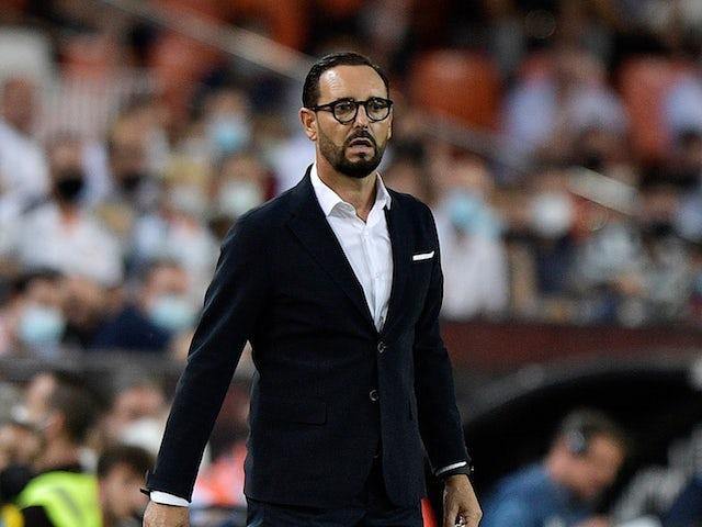 Valencia coach Jose Bordalas on September 19, 2021