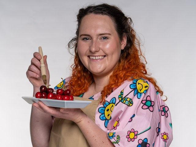 Elizabeth on the Great British Bake Off 2021