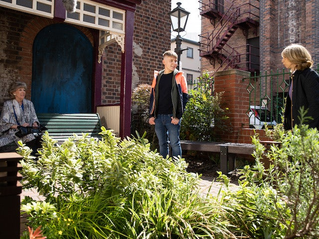 Audrey, Max and Gail on the second episode of Coronation Street on October 1, 2021
