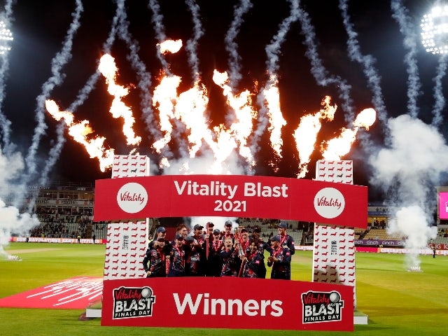 Kent crowned Vitality Blast champions after beating Somerset in eventful final