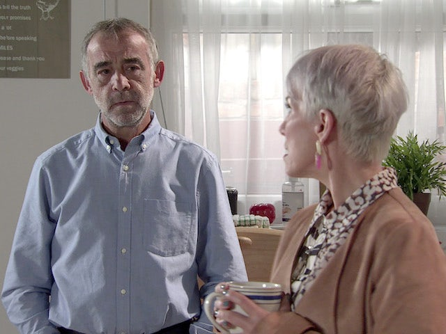 Kevin on the second episode of Coronation Street on September 29, 2021