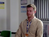 Daniel on the first episode of Coronation Street on September 27, 2021