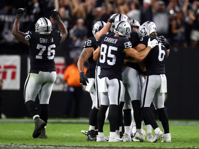 Result: Las Vegas Raiders edge out Baltimore Ravens 33-27 in overtime