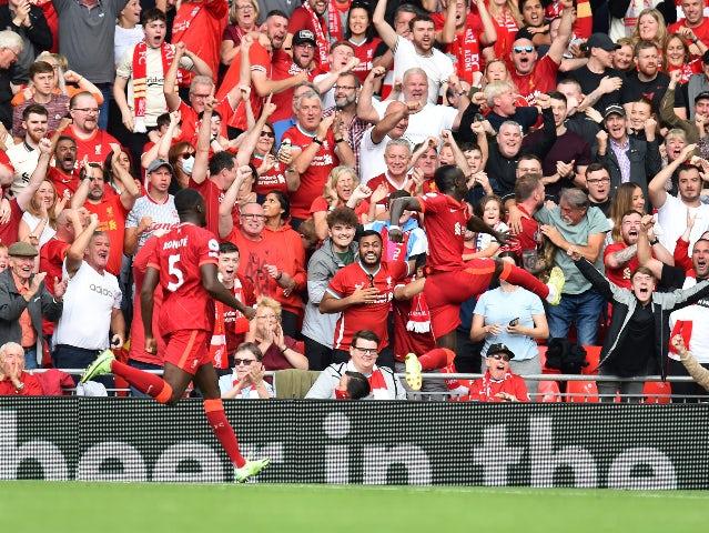 Sadio Mane breaks Premier League record with landmark Liverpool goal