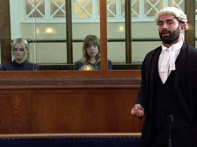 Imran on the first episode of Coronation Street on September 29, 2021