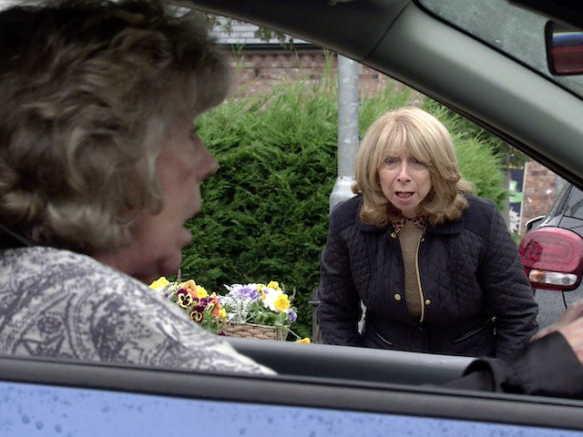 Gail on the first episode of Coronation Street on September 29, 2021