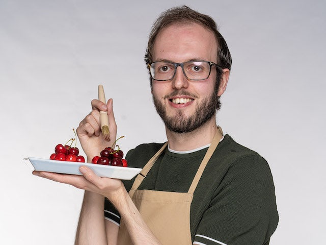 Tom on the Great British Bake Off 2021