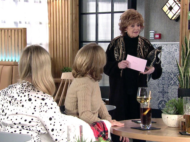 Rita on the first episode of Coronation Street on September 29, 2021