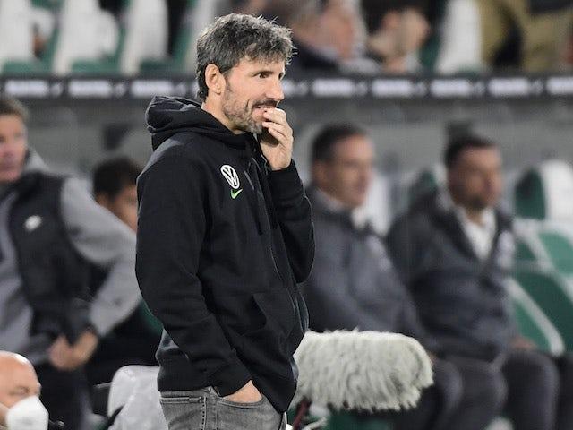 Wolfsburg coach Mark van Bommel on September 19, 2021