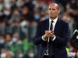 Juventus coach Massimiliano Allegri on September 19, 2021