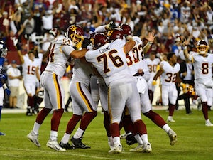 Dustin Hopkins seals thrilling Washington victory with second-chance field goal