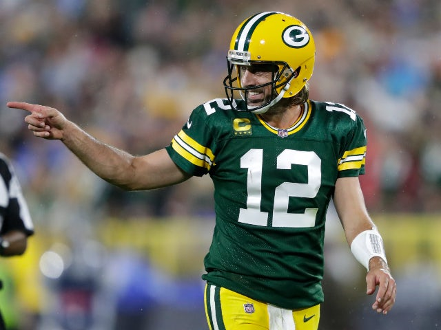 Result: Aaron Rodgers on form as Green Bay Packers sweep aside Detroit Lions