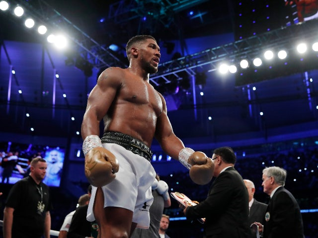 A look at 5 potential next opponents for Anthony Joshua