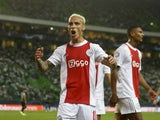 Ajax attacker Antony pictured in September 2021