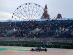 Result: Valtteri Bottas leads Lewis Hamilton as Mercedes dominate in Russia