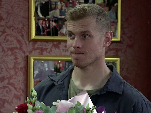 Leo on the first episode of Coronation Street on October 11, 2021