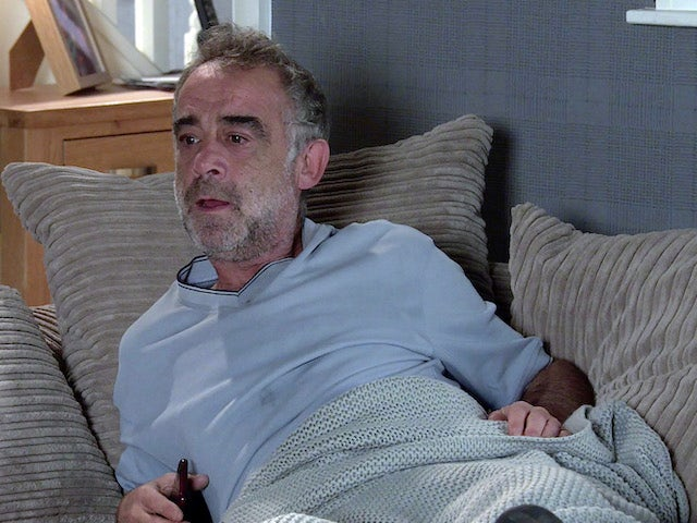 Kevin on the first episode of Coronation Street on October 11, 2021