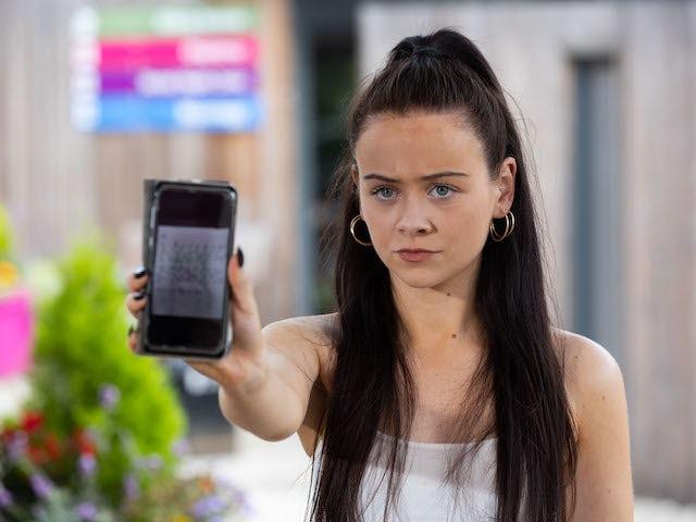 Juliet on Hollyoaks on September 27, 2021