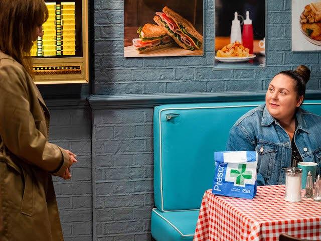 Rainie and Bernie on EastEnders on October 7, 2021