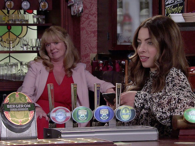 Jenny and Daisy on the first episode of Coronation Street on October 11, 2021