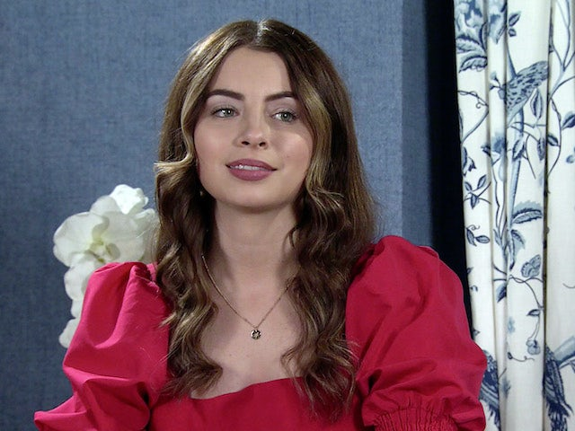 Daisy on the second episode of Coronation Street on October 8, 2021