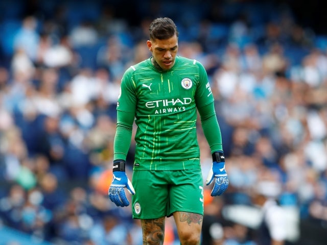 Manchester City's Ederson pictured on September 18, 2021